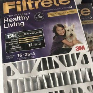 3m Two 16x25x4 Fiktreye Air Filters C41